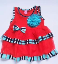 DRESS FORMAL BABY BAYI BURBERRY BRAND MILIAN BABY